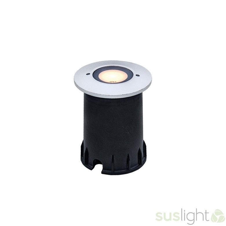 LED Grondspot Sus Small Sun 1.5Watts - 24V + cover