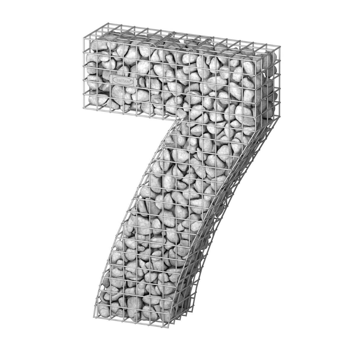 Gabionen cijfers 0, 1, 2, 3, 4, 5, 6, 7, 8, 9