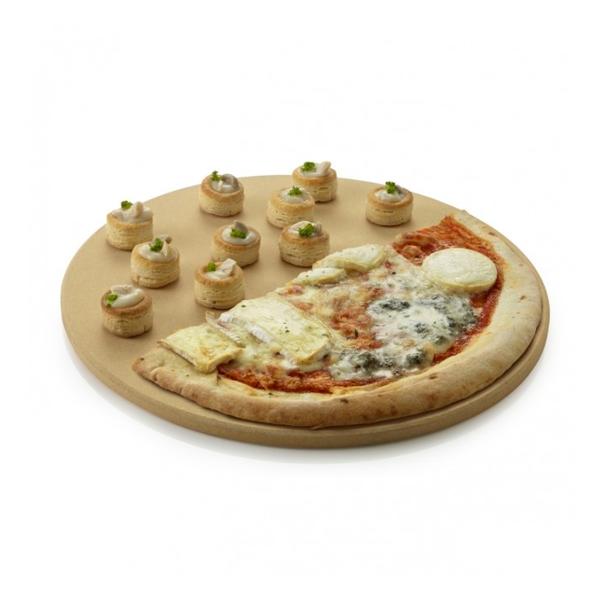 Barbecook Universele Pizzaplaat klei 36 cm
