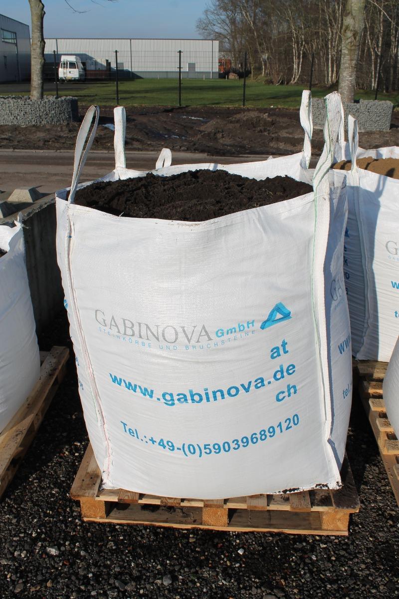 Teelaarde (zwarte grond) in BigBag