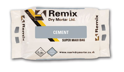Remix portland cement