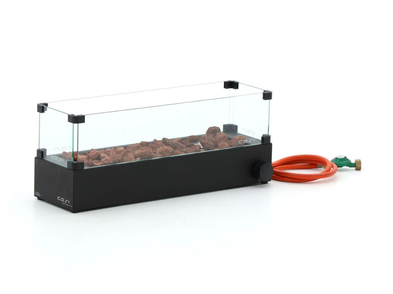 Cosiburner tafelhaard Zwart (incl. Glas)