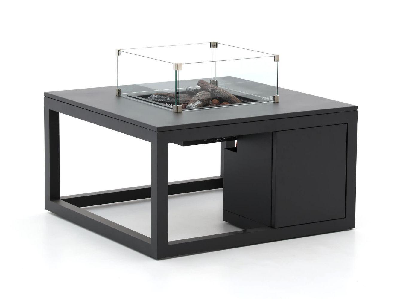 Cosiraw Lounge Vuurtafel (incl. Glas)