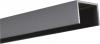 Alu U-Afdekprofiel 2 meter lang gepoedercoat steengrijs