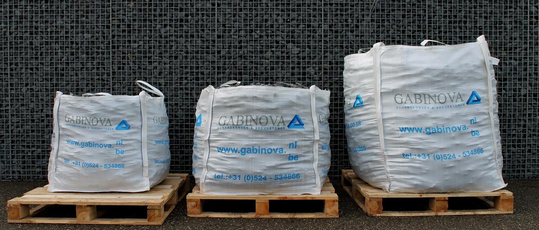Bigbags breukstenen 600kg 1000kg 1700kg