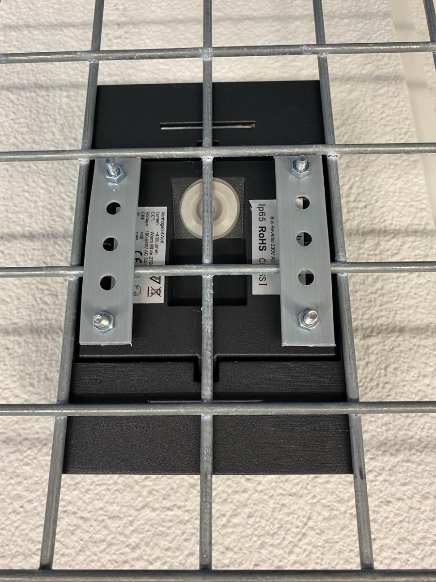 Schanskorf lamp bevestigingsset