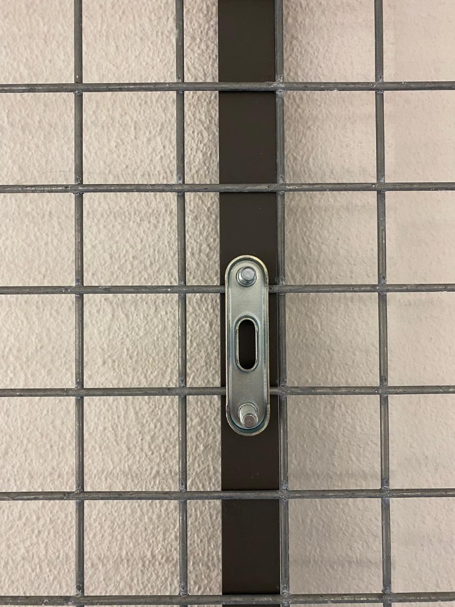 Schanskorf U-Profiel verbinding binnenkant