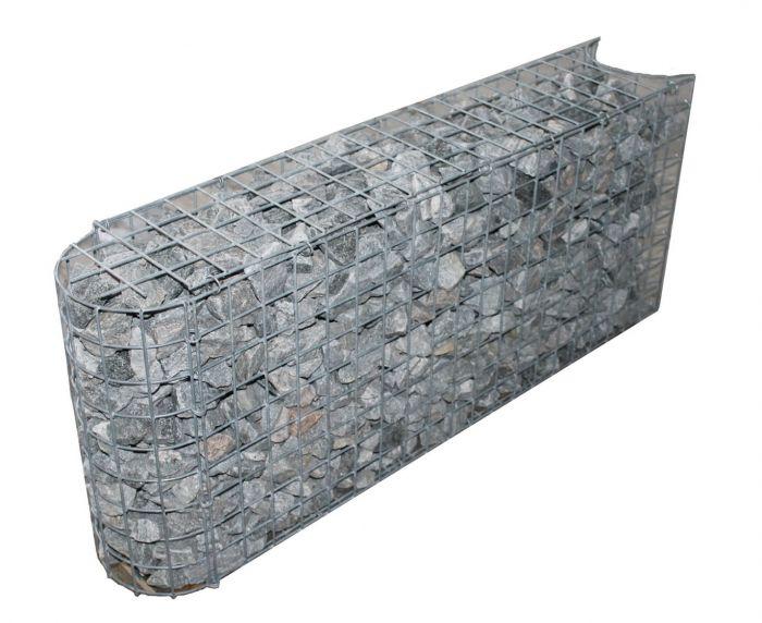 Bocht steenkorf diepte 47cm