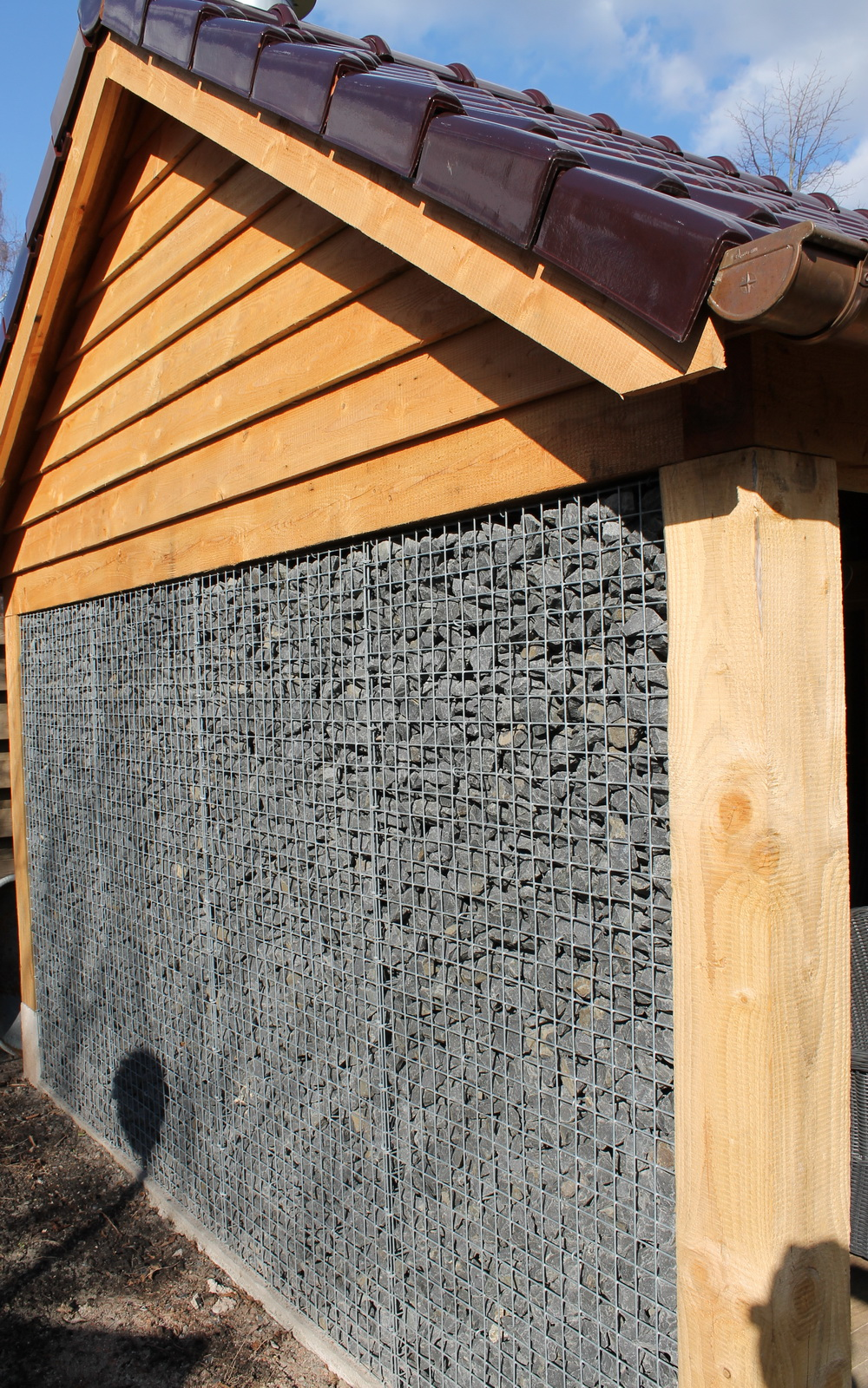 Schanskorf met Basalt 56-75mm
