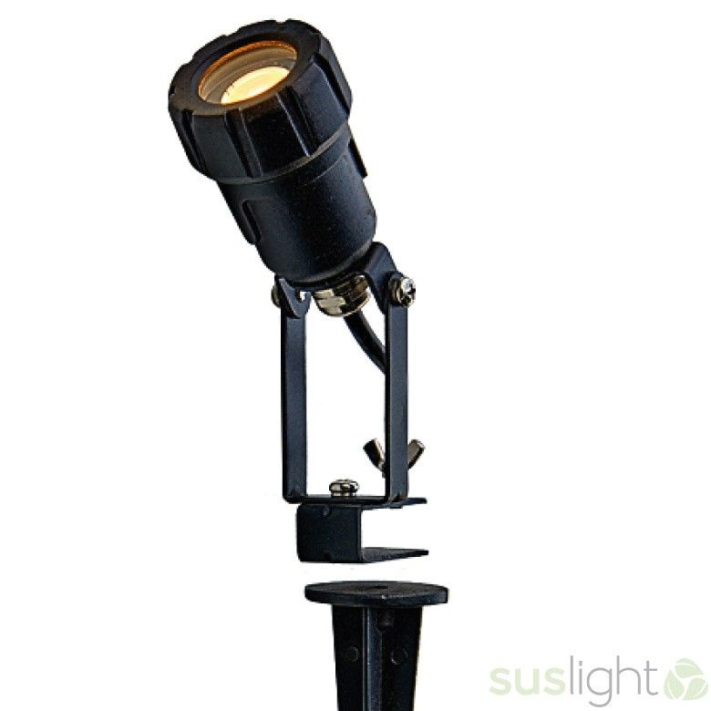 LED Spot Sus Small Tops 1,4W - 24V + grondpin