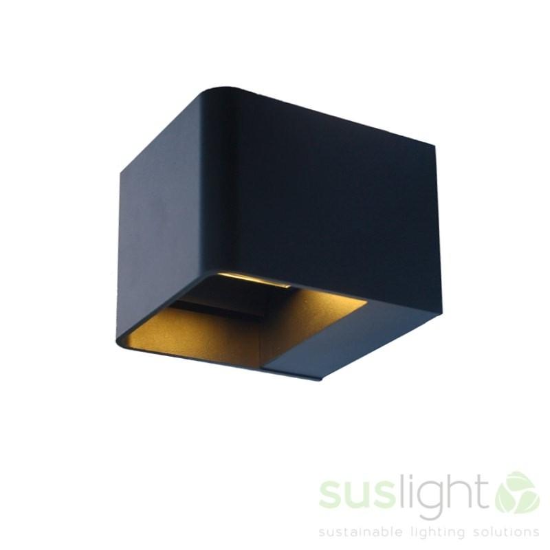 Sus Square Black 24V 4 Watt