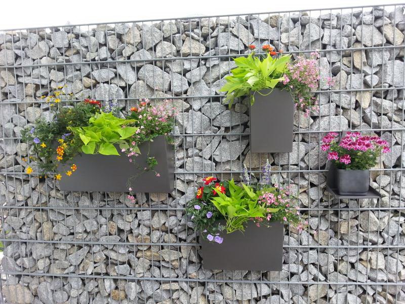Schanskorf bloembakken